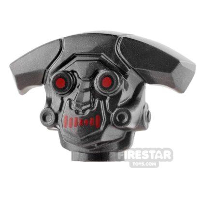 Product shot LEGO Mini Figure Heads - M-OC Hunter Droid
