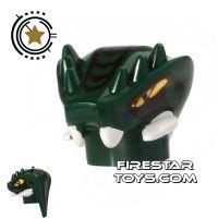 Product shot LEGO Mini Figure Heads - Ninjago - Lizaru