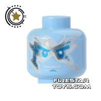 Product shot LEGO Mini Figure Heads - Ninjago - NRG Zane