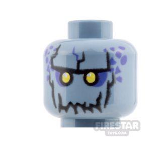 Product shot LEGO Mini Figure Heads - Rock Monster - Reex