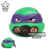 Product shot LEGO Mini Figure Heads - Teenage Mutant Ninja Turtles - Donatello Breathing Mask