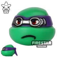 Product shot LEGO Mini Figure Heads - Teenage Mutant Ninja Turtles - Donatello Goggles