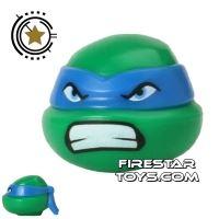 Product shot LEGO Mini Figure Heads - Teenage Mutant Ninja Turtles - Leonardo Bared Teeth