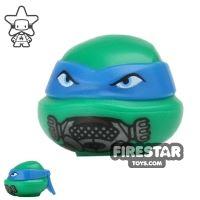 Product shot LEGO Mini Figure Heads - Teenage Mutant Ninja Turtles - Leonardo Breathing Mask