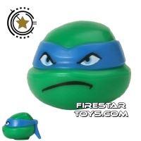Product shot LEGO Mini Figure Heads - Teenage Mutant Ninja Turtles - Leonardo