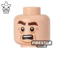 Product shot LEGO Mini Figure Heads - Teenage Mutant Ninja Turtles - Victor Bared Teeth