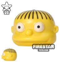 Product shot LEGO Mini Figure Heads - The Simpsons - Ralph Wiggum