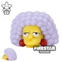 Product shot LEGO Mini Figure Heads - The Simpsons - Selma