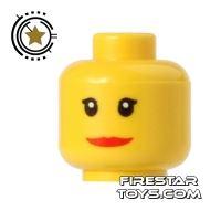 Product shot LEGO Mini Figure Heads - Wide Smile