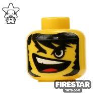 Product shot LEGO Mini Figure Heads - Winking