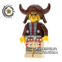 Product shot LEGO Mini Figure - Indian Medicine Man