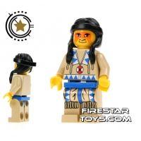 Product shot LEGO Mini Figure - Indian