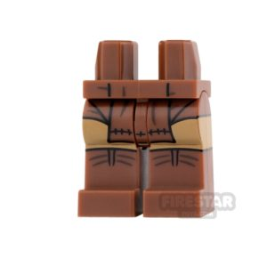 Product shot LEGO Mini Figure Legs - Batman - Apache Chief