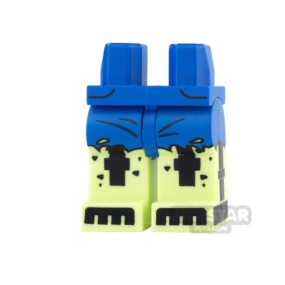 Product shot LEGO Mini Figure Legs - Batman - Doctor Phosphorus