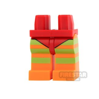 Product shot LEGO Mini Figure Legs - Batman - Killer Moth