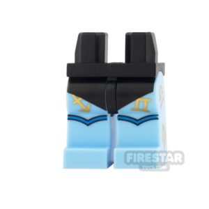Product shot LEGO Mini Figure Legs - Batman - Zodiac Master