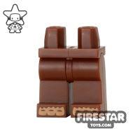 Product shot LEGO Mini Figure Legs - Bigfoot