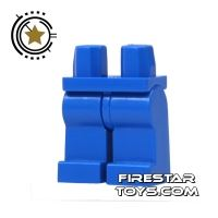 Product shot LEGO Mini Figure Legs - Blue Legs