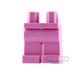 Product shot LEGO Mini Figure Legs - Bright Pink