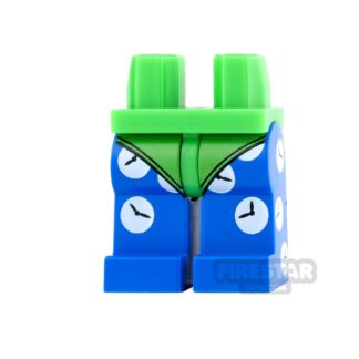 Product shot LEGO Mini Figure Legs - Clock King