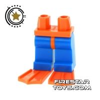 Product shot LEGO Mini Figure Legs - Diver Legs with Flippers