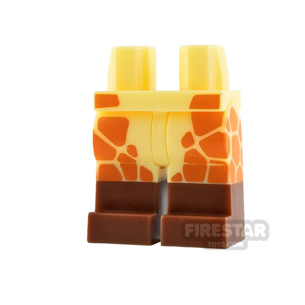 Product shot LEGO Mini Figure Legs - Giraffe