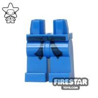 Product shot LEGO Mini Figure Legs - Ninjago - Blue with Belt