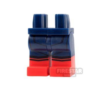Product shot LEGO Mini Figure Legs - Spiderman Homecoming
