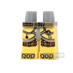 Product shot LEGO Mini Figure Legs - Star Wars - Bossk