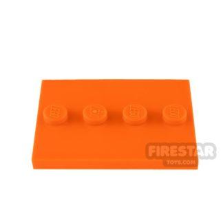 Product shot LEGO - Mini Figure Stand - Orange