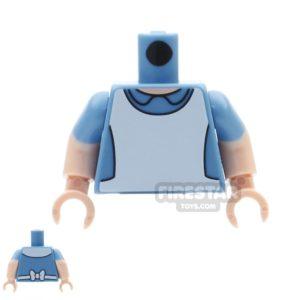 Product shot LEGO Mini Figure Torso - Alice In Wonderland