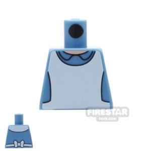Product shot LEGO Mini Figure Torso - Alice In Wonderland - No Arms