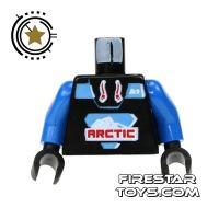 Product shot LEGO Mini Figure Torso - Arctic