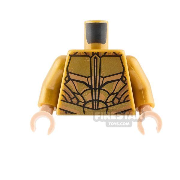 Product shot LEGO Mini Figure Torso - Atlantean Guard Armour