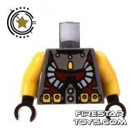 Product shot LEGO Mini Figure Torso - Atlantis Diver