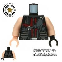 Product shot LEGO Mini Figure Torso - Avengers Hawkeye