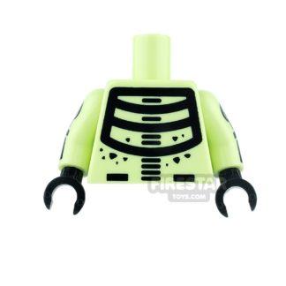 Product shot LEGO Mini Figure Torso - Batman - Doctor Phosphorus