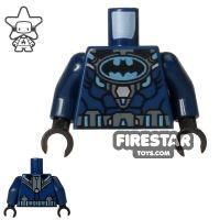 Product shot LEGO Mini Figure Torso - Batman Scuba Suit