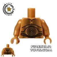 Product shot LEGO Mini Figure Torso - C-3PO