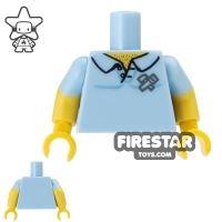 Product shot LEGO Mini Figure Torso - Carpenter Shirt