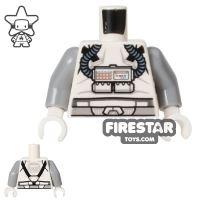 Product shot LEGO Mini Figure Torso - Clone Pilot - Rebreather Apparatus
