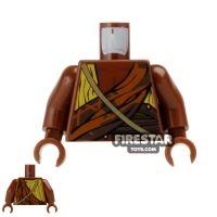 Product shot LEGO Mini Figure Torso - Draped Robe with Strap