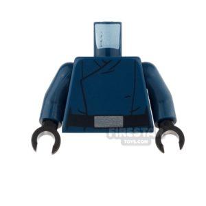 Product shot LEGO Mini Figure Torso - First Order Officer Uniform - Male 2