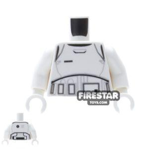 Product shot LEGO Mini Figure Torso - First Order Stormtrooper Armour