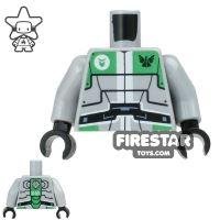 Product shot LEGO Mini Figure Torso - Galaxy Squad Robot