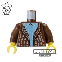 Product shot LEGO Mini Figure Torso - Harry Potter - Uncle Vernon Dursley