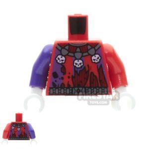 Product shot LEGO Mini Figure Torso - Jestro