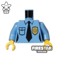 Product shot LEGO Mini Figure Torso - Police Uniform