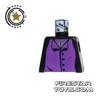 Product shot LEGO Mini Figure Torso - Professor Snape - No Arms