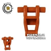 Product shot LEGO Mini Figure Torso - Star Wars Battle Droid - Dark Orange